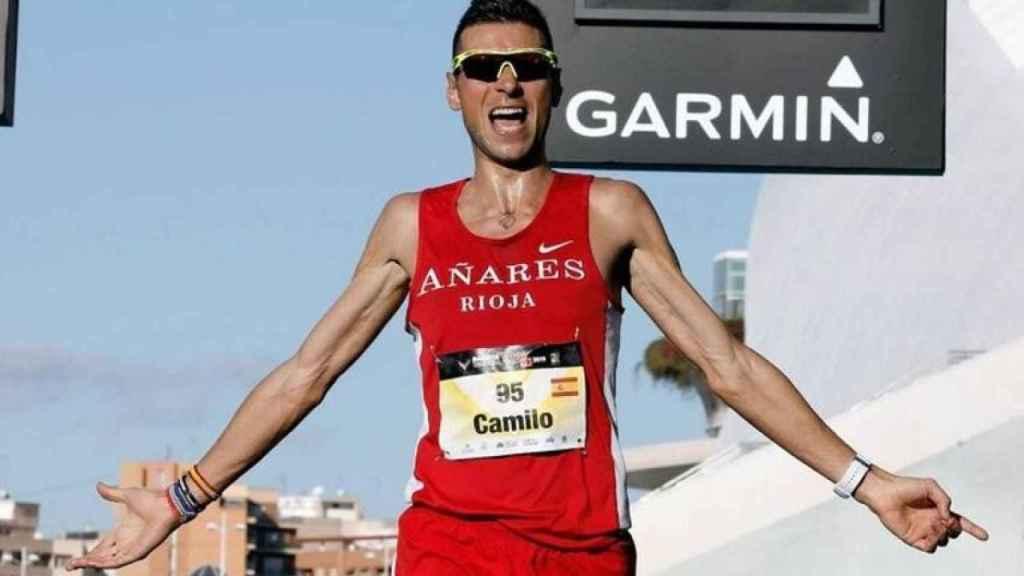 Camilo Santiago, el atleta español sancionado dos años por la RFEA