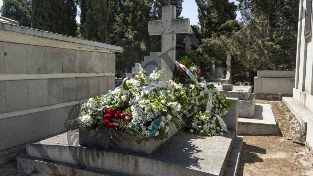 Imagen del panteón donde descansan los retos del padre de Ana Torroja.