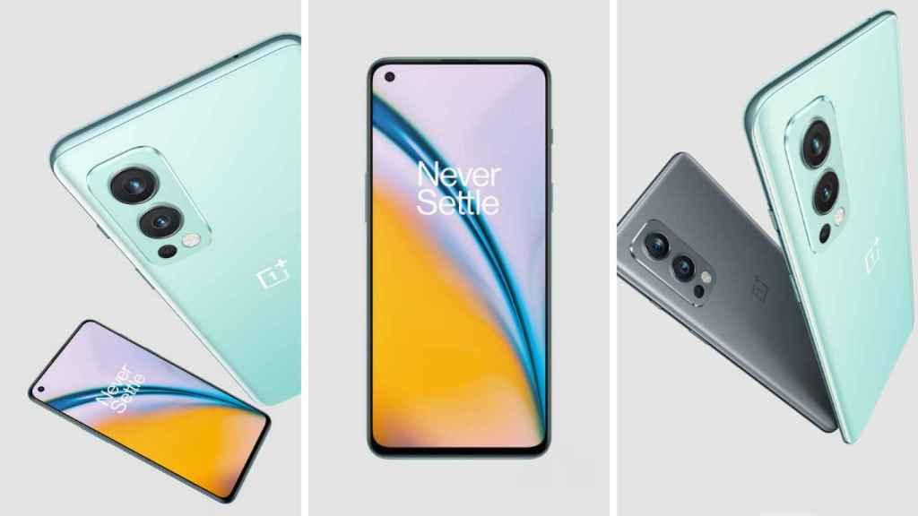 OnePlus Nord 2 5G diseño