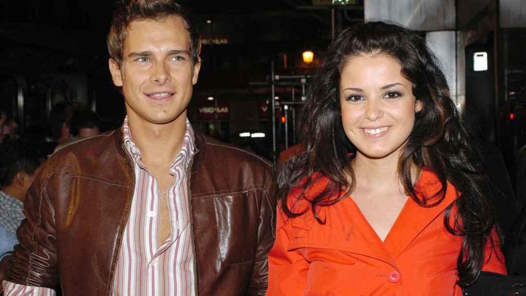 El presentador, junto a Marta Torné, a inicios de los 2000.