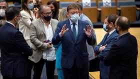 El presidente de la Generalitat Valenciana, Ximo Puig, en un acto reciente.