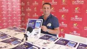 Bernabé Cano hace balance del uso de a aplicación móvil de 'La Nucía'.