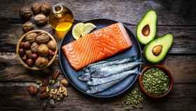 Alimentos con omega-3.