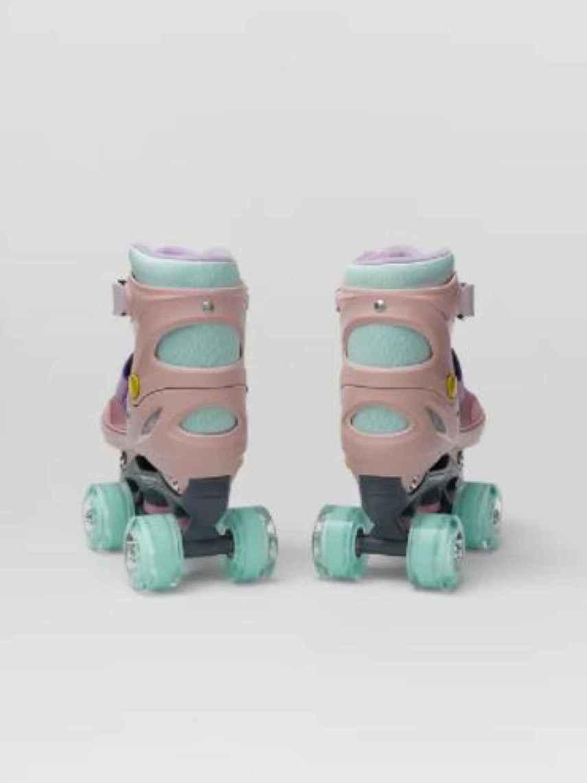 Los patines de Zara cumplen con todos los requisitos de funcionalidad y moda.
