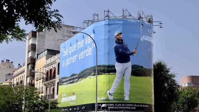 La nueva imagen del Open de España de golf