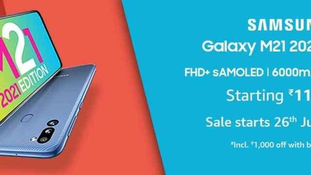 Nuevo Samsung Galaxy M21 2021 Edition: el superventas actualiza sus cámaras