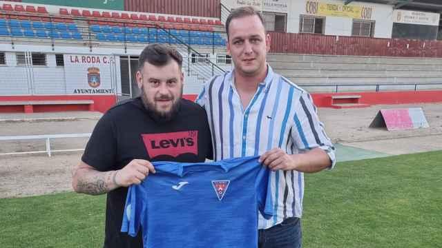 Joaquín Menchén, nuevo entrenador de La Roda