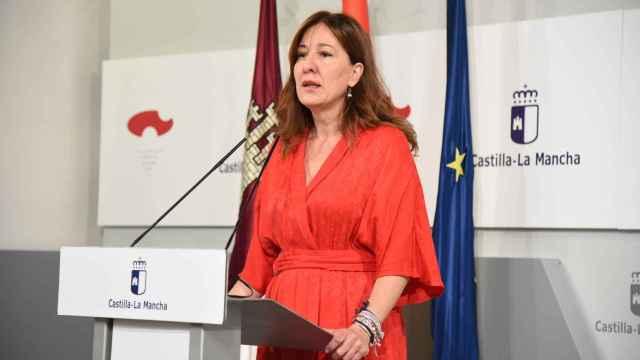 Blanca Fernández, portavoz del Gobierno de Castilla-La Mancha. Foto: JCCM
