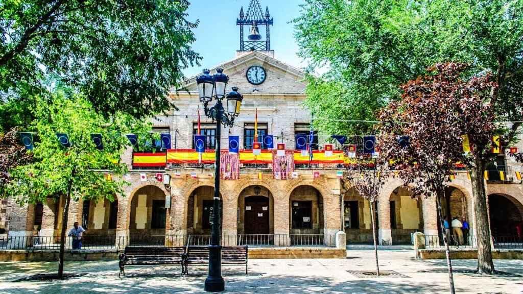 Ayuntamiento de Corral de Almaguer. Imagen de archivo