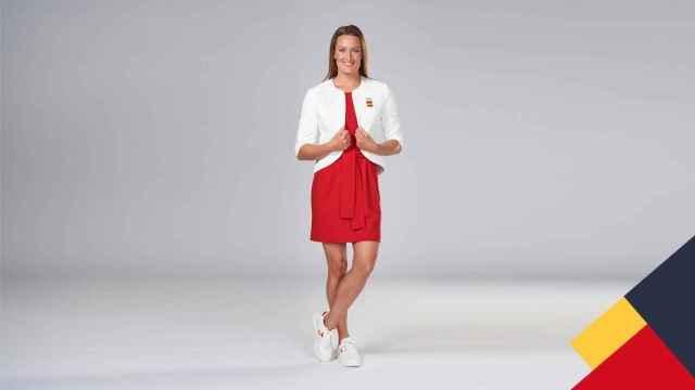 Así vestirá Mireia Belmonte en el desfile de inauguración de las Olimpiadas en Tokio