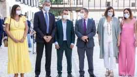 Inauguración de la nueva Plaza Mayor de Tembleque (Toledo)