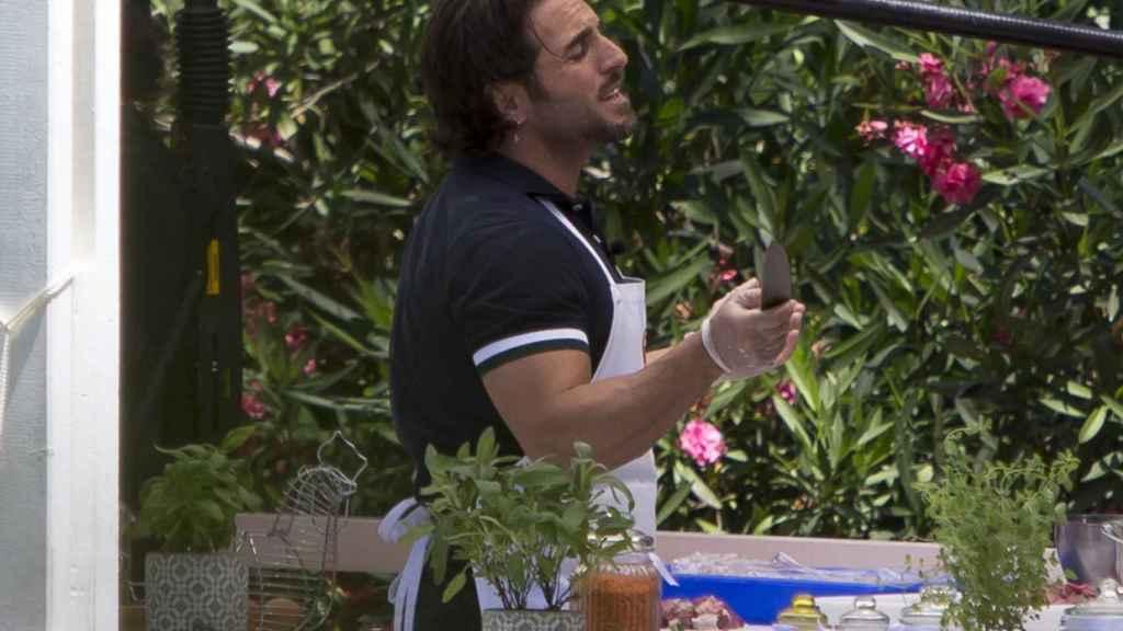 David Bustamante muestra su lado más divertido en MasterChef Celebrity
