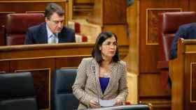 Carolina Darias en el Congreso de los Diputados.