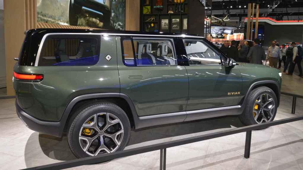 Este SUV supera los 5 metros de largo.
