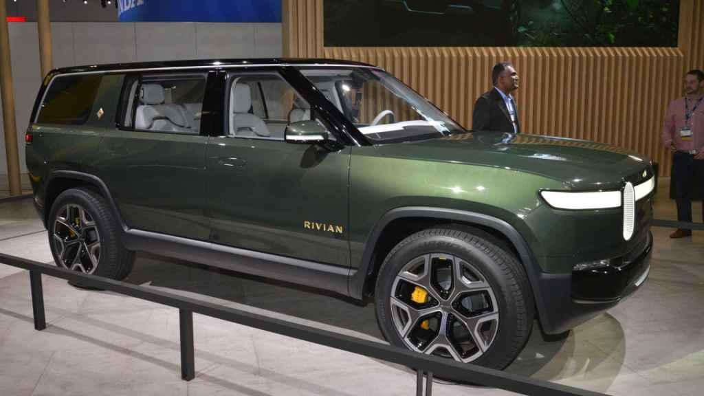 Por el momento, este SUV eléctrico de Riviano no se vende en Europa.
