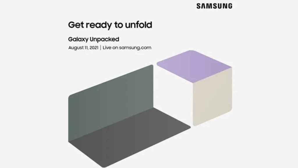 Samsung  Unpacked,  el 11 de agosto