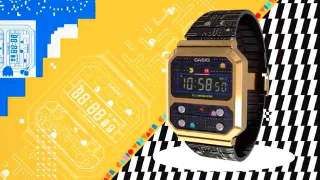 Así es el nuevo reloj de Casio y PacMan