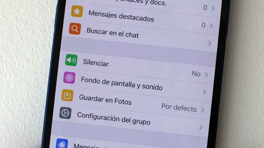 WhatsApp deja silenciar los grupos.