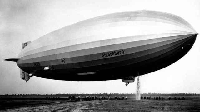 Vídeo restaurado del Hindenburg