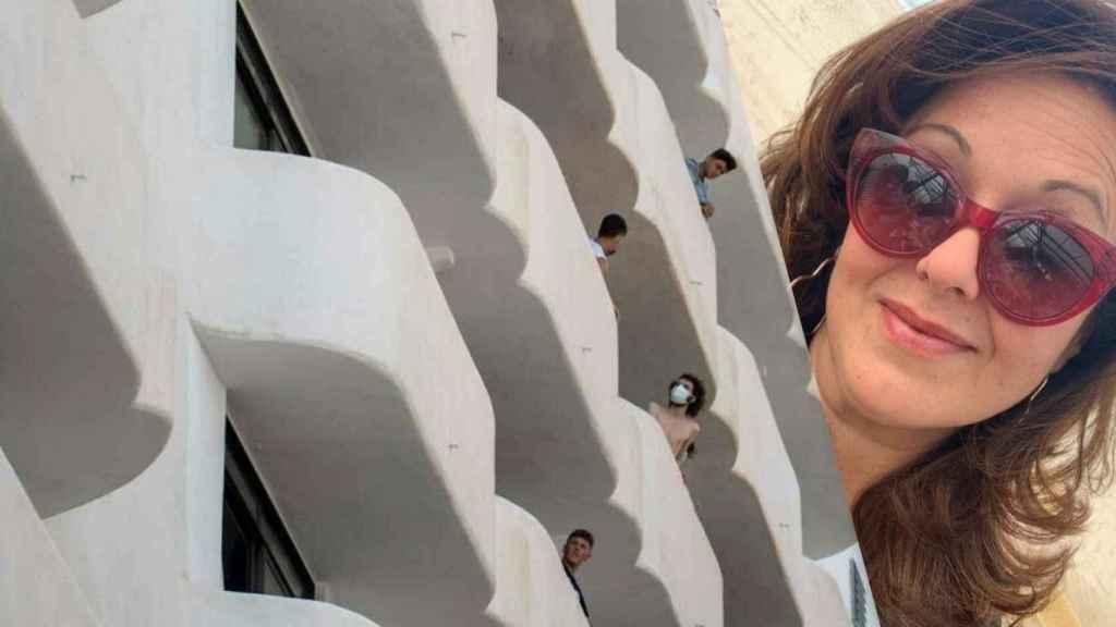 Arancha, la madre de un menor confinado en Mallorca que acorrala a la jefa de Salud balear