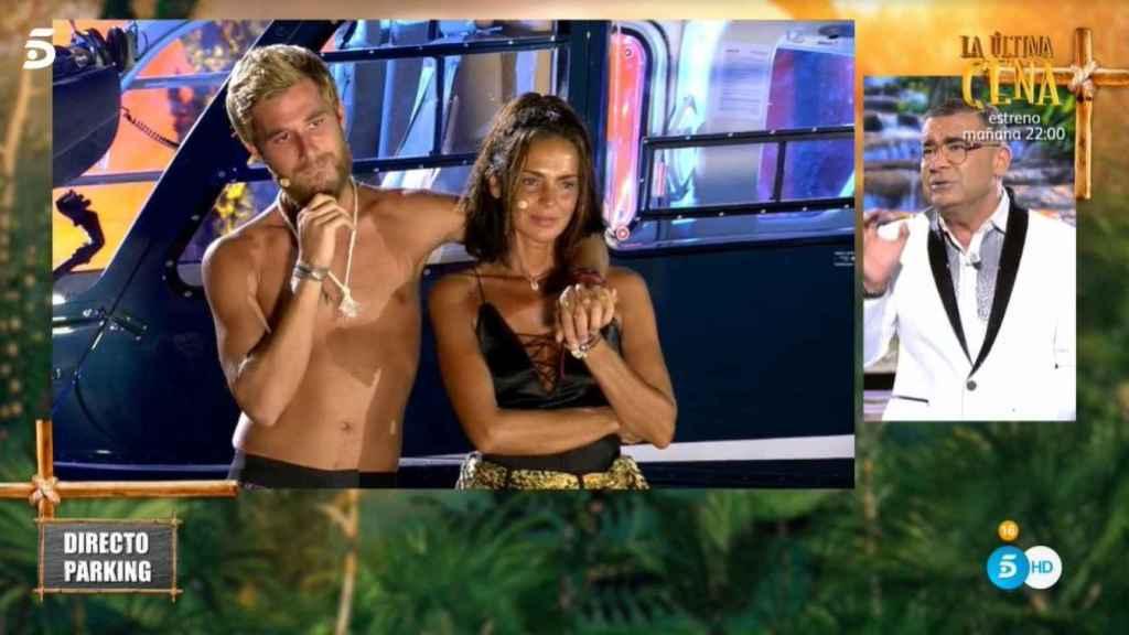 Olga y Tom, a escasos segundos de saber quién pasaba a la final.
