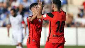 Debut del Málaga en pretemporada.