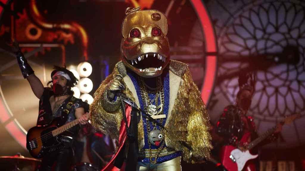'Mask Singer': El conocido presentador de Telecinco que estaba tras la máscara de Cocodrilo