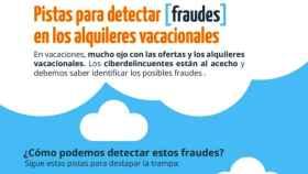 Cómo evitar los fraudes en el alquiler de viviendas vacacionales