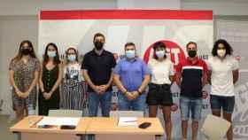 Reunión de jóvenes ugetistas en Toledo