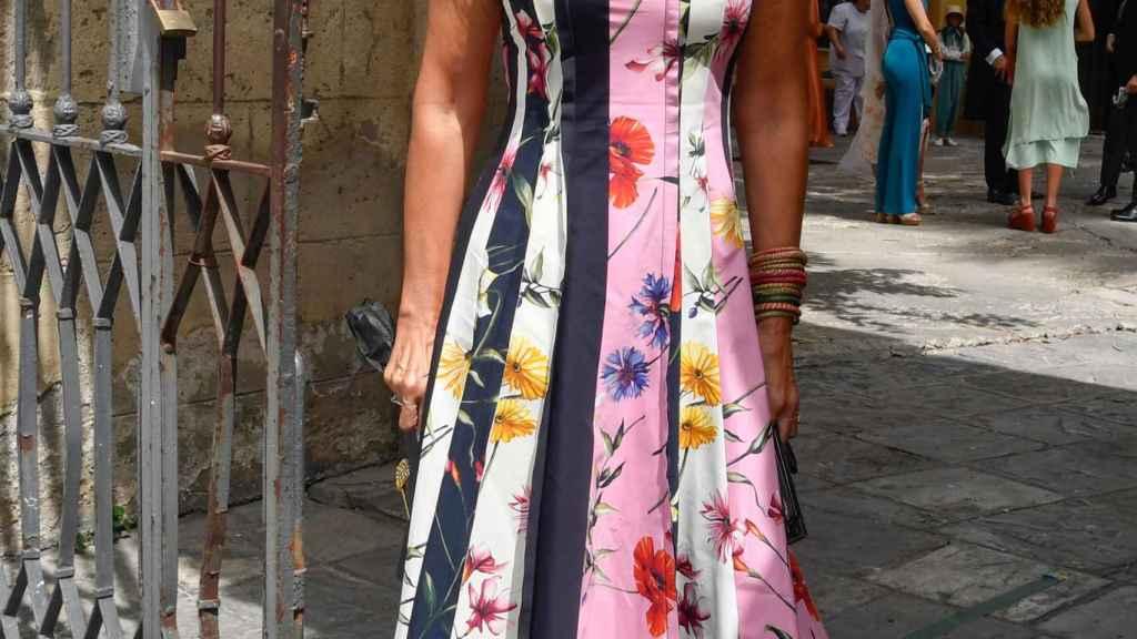 La periodista, sonriente, en una imagen de este mes de julio.