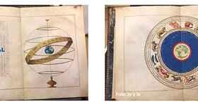 El atlas portulano de Battista Agnese recuperado por la policía.