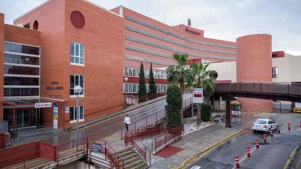 El Hospital Virgen de la Arrixaca de Murcia donde ingresó David.