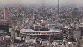 El Estadio Nacional de Tokio, sede de la ceremonia de inauguración de los Juegos Olímpicos