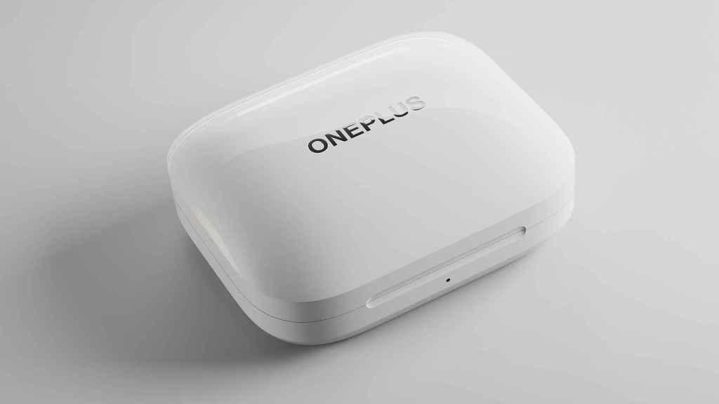 Estuche de los OnePlus Buds Pro.