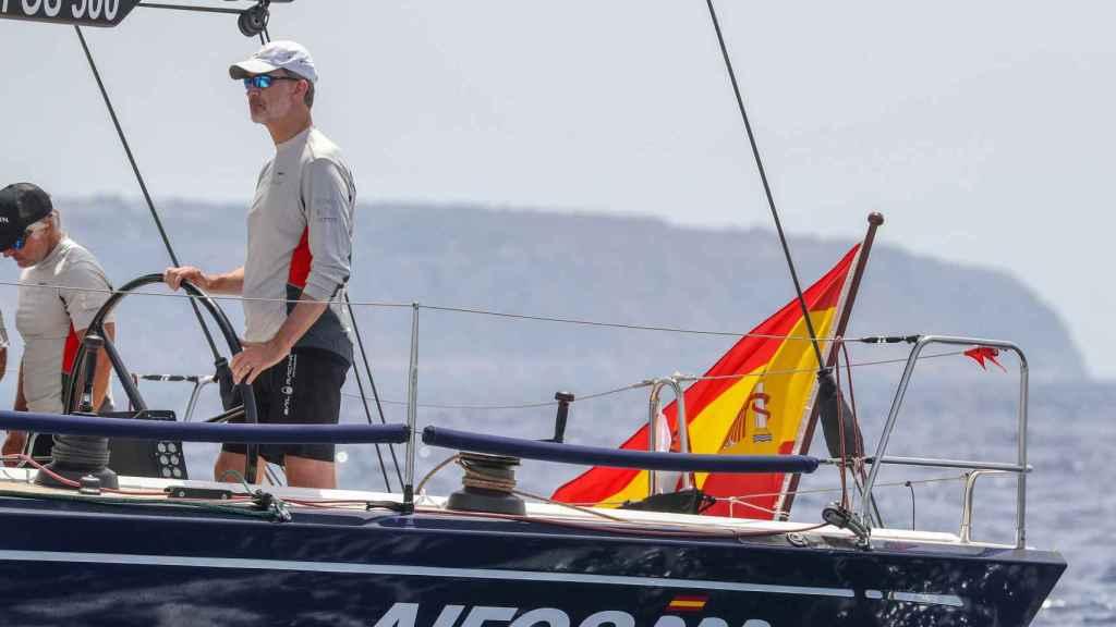 Felipe VI en la 38 edición de la Copa del Rey de vela.