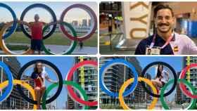 Los malagueños en los Juegos Olímpicos de Tokio.