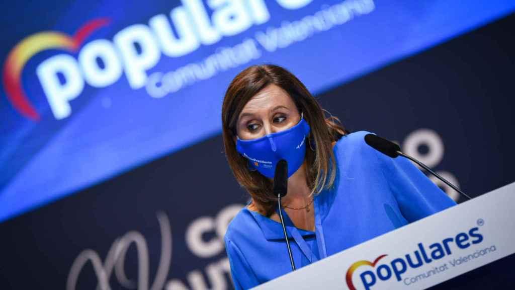 La portavoz del PP en el Ayuntamiento de Valencia, María José Catalá.