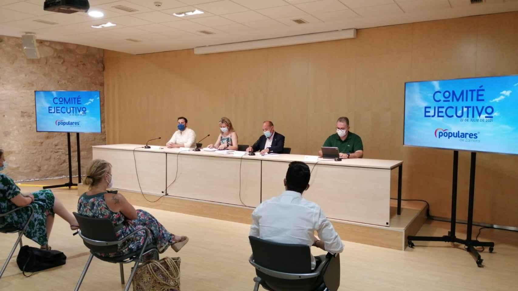 Celebrado el Comité Ejecutivo Provincial del PP en Zamora 1
