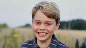 La foto del príncipe George en su octavo cumpleaños.