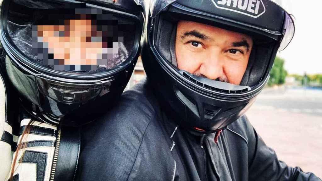 Nadia y su padre, Antonio Pardo, en una imagen compartida en redes sociales.