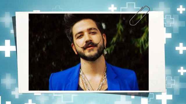 El cantante Camilo en un montaje de JALEOS.