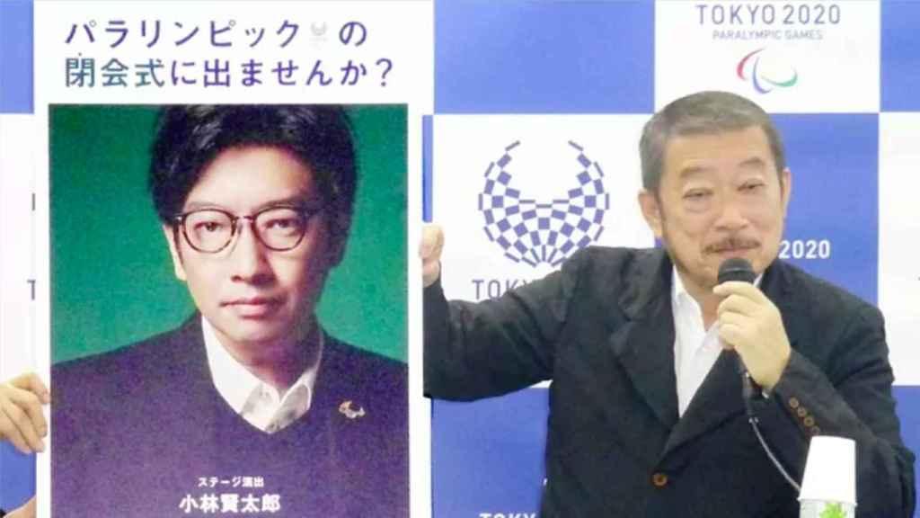 Kentaro Kobayashi, durante un acto de Tokio 2020