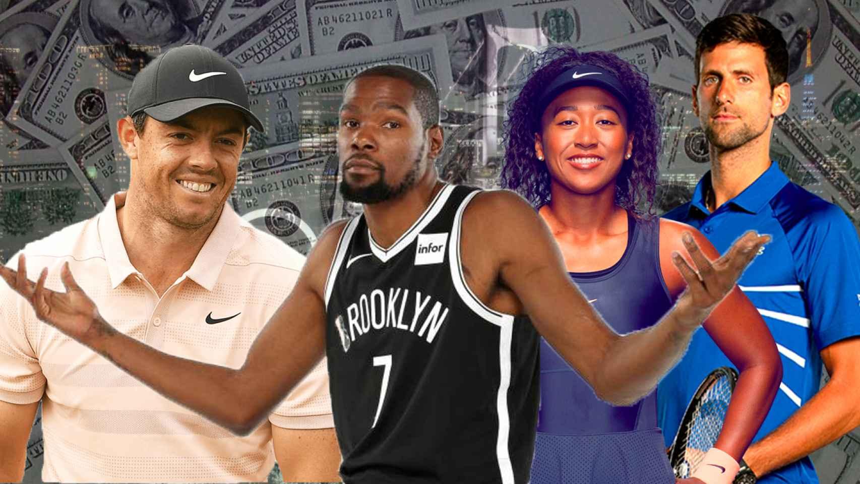 Los atletas mejores pagados de los Juegos Olímpicos