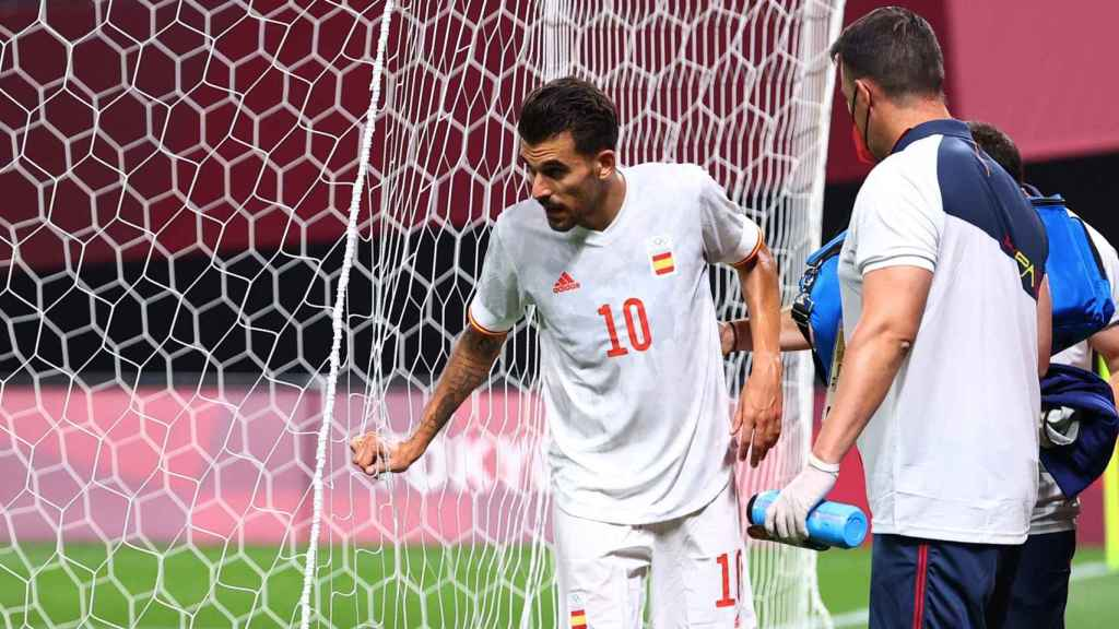 Ceballos se va lesionado con España