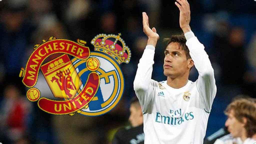 Varane, entre el United y el Real Madrid