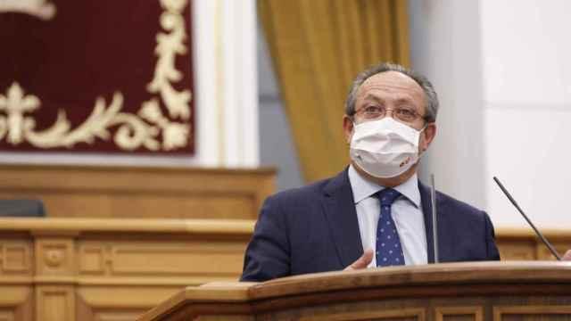 El consejero de Hacienda, Juan Alfonso Ruiz Molina