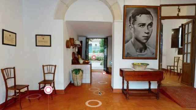 La galería virtual de Miguel Hernández incluye imágenes en 360º.