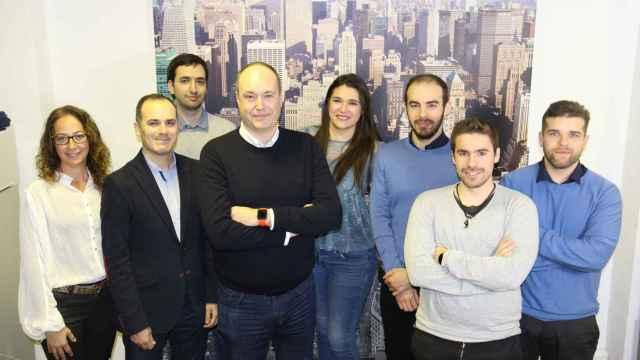 Equipo humano de Wenalyze, startup vencedora hace apenas un mes del Capital4Startups Pitch, evento organizado por Startup Valencia.