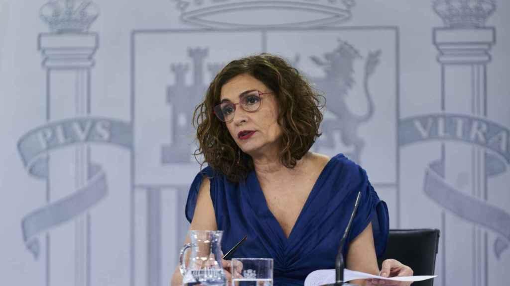 María Jesús Montero, ministra de Hacienda y Función Pública.