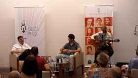 Una imagen de ayer en el Centro Andaluz de las Letras.